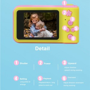 children ordinary digital camera anti-fall SLR camera cartoon children camera gifts