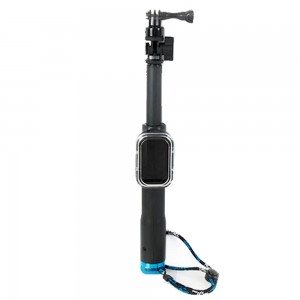 Andoer Telescopic Handheld Monopod with Remote Control Holder Mount Adapter Sling for Gopro Sport Camera HD Hero 4/3+/3/2/1