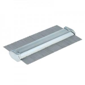 150mm Carbon Steel Profile Contour Gauge Deep Decorating Tiling Laminate Tiles General Tool