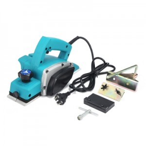 800W Electric Handheld Planer Powerful Woodworking File Tool Set