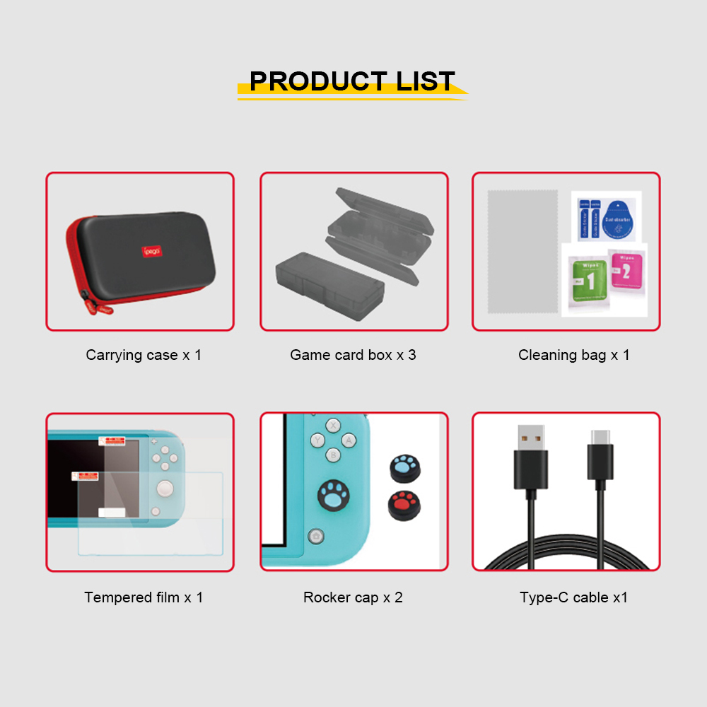 iPEGA PG - SL001 9-in-1 Storage Case Bag for Switch Lite